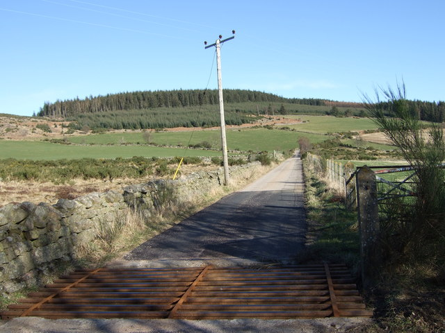 Access road to NSWA installation.