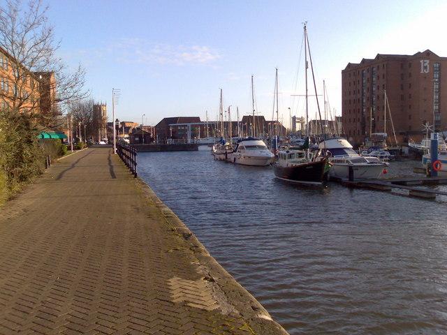 Hull Marina near Holiday Inn