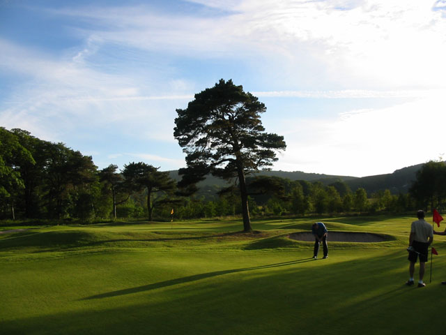 17th Green at Cavendish Golf Club