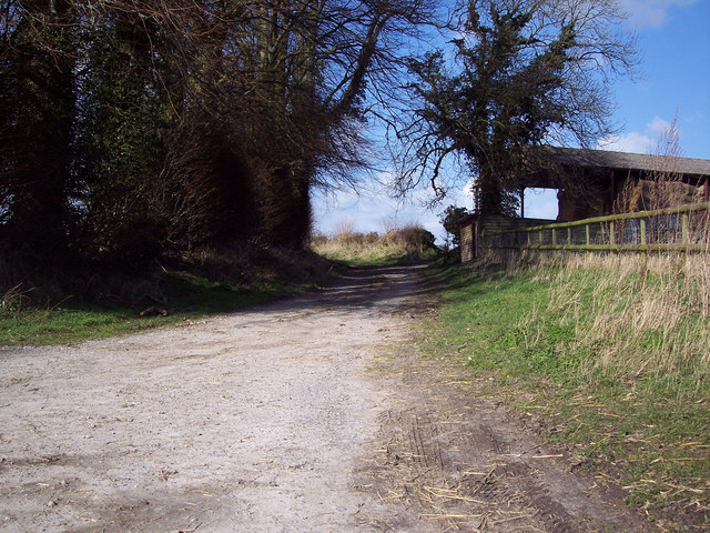 Bridleway to Tisbury Road from the A30
