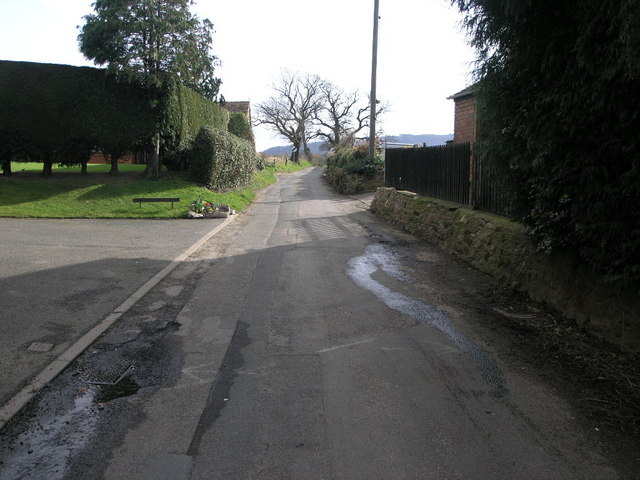 South of Wrockwardine