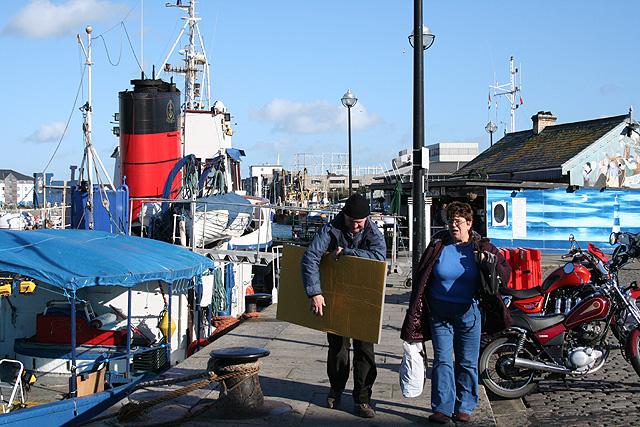 Plymouth: near the Barbican