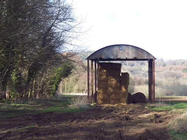 Straw barn near Newtown