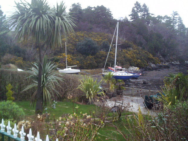 Gardens, boats and gorse.