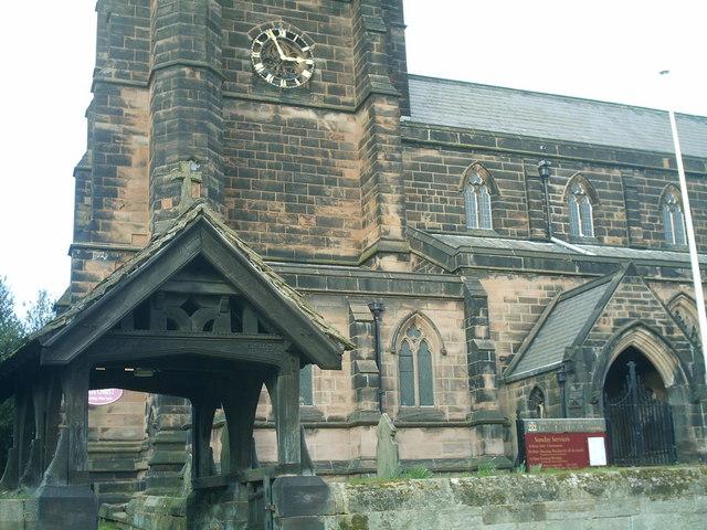 Saint Wilfrids church Davenham.