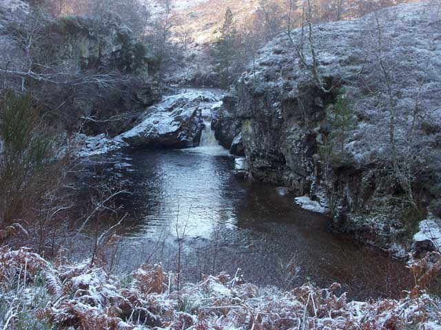Waterfall, Linn of Pattack