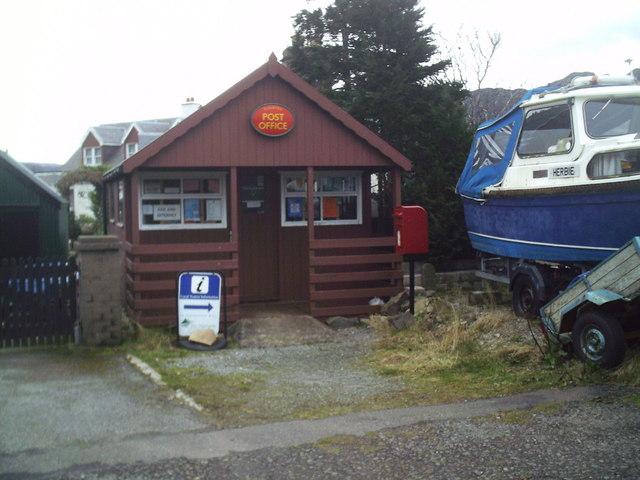 The New Post Office Plockton.