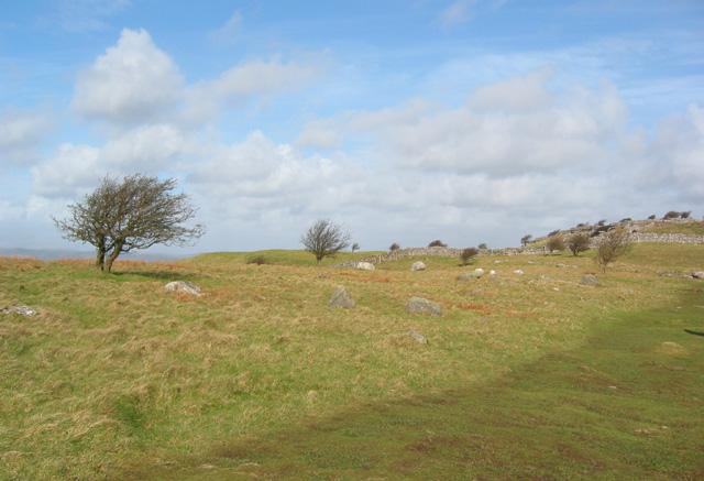 Northern top on Hampsfell
