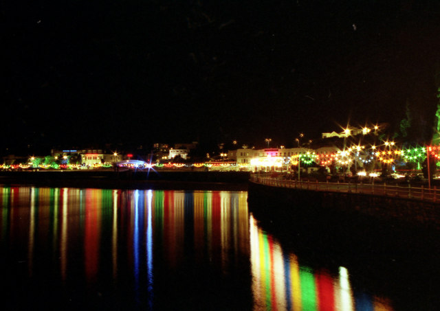 Torquay Seafront on a November night