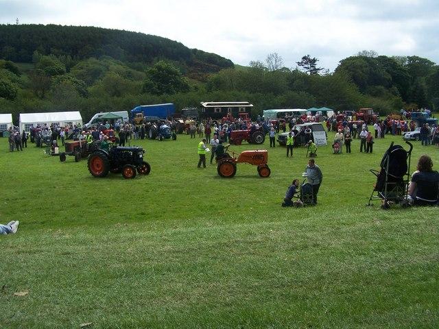 Vintage tractor show