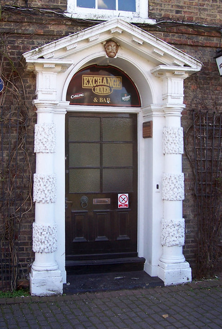The Exchange, Bigby Street, Brigg - Doorway