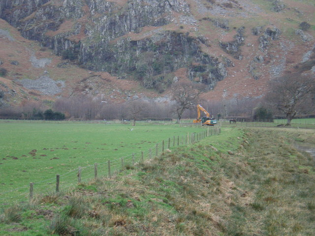 Ditch clearing at Gesail.