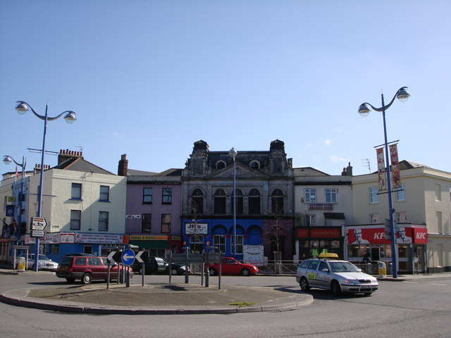 Buildings at the Octagon, Union Street