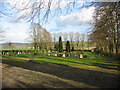 ST7257 : Wellow cemetery by Phil Williams