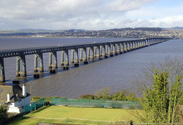 Tay Bridge from Wormit