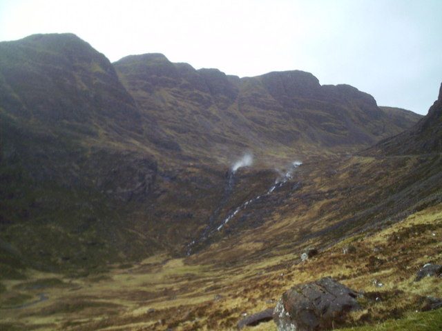 Two streams in Coire na Ba