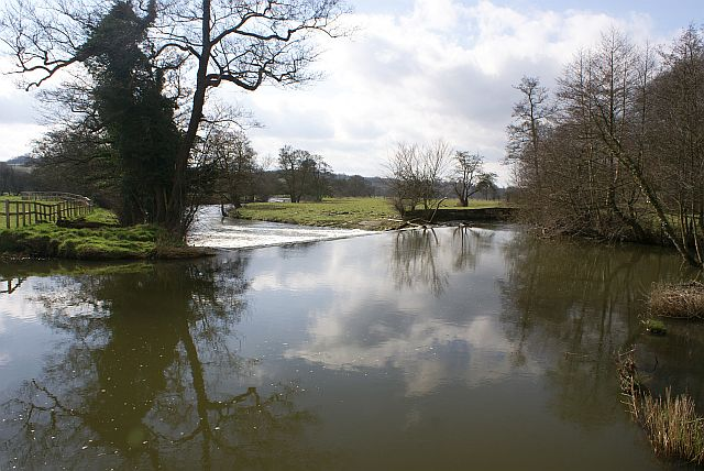 Weir on the River Dove