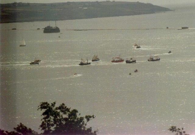 Plymouth Trawler Race