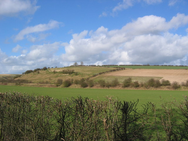 Countryside NW Of Fimber