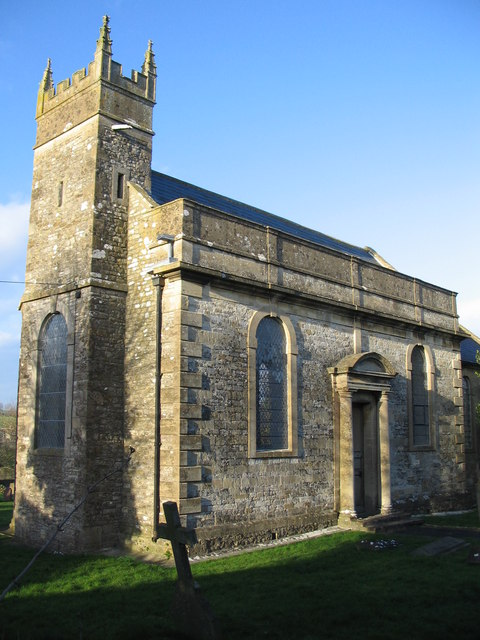 The tower of St. James the Less, Foxcote