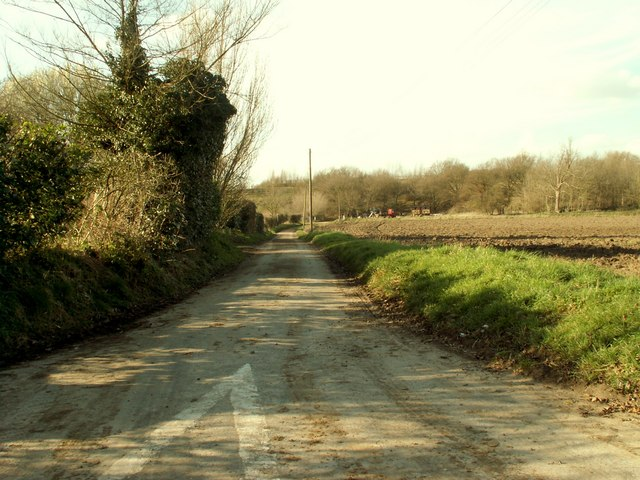Harman's Lane, by Needham church