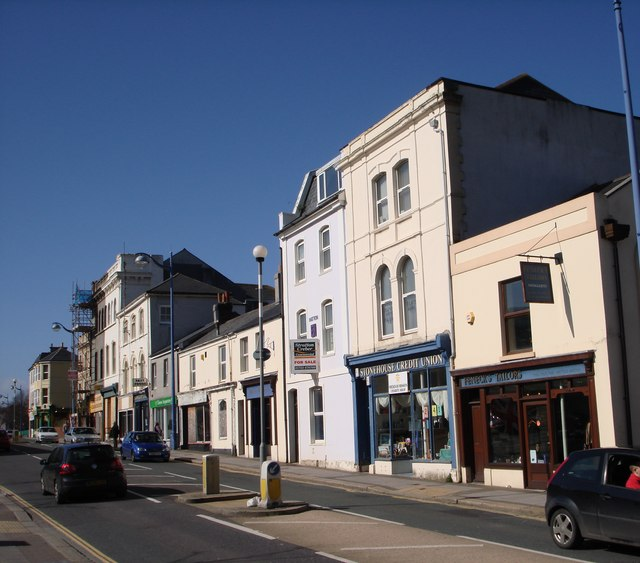 Stonehouse Credit Union, and Tailor's Shop, Union Street