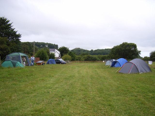 Campsite at Snowdon Fricsan Inn