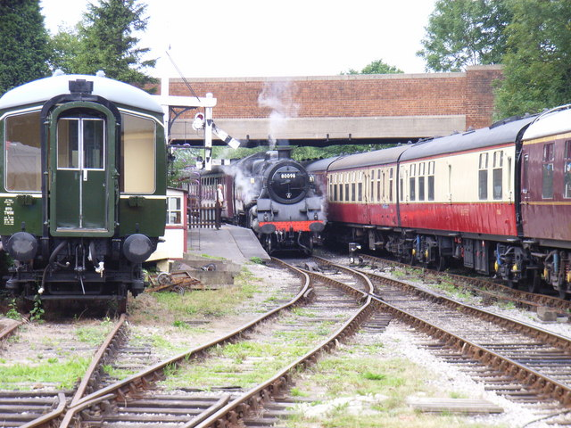 Steam Train at Butterley