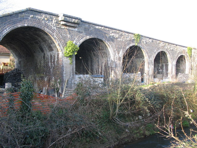 The viaduct at Shoscombe Vale