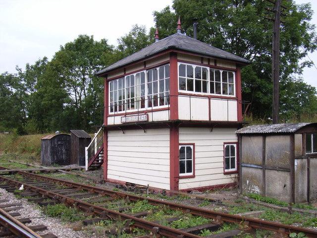 Signal Box at Butterley