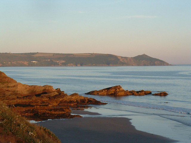 Rame Head from Freathy beach