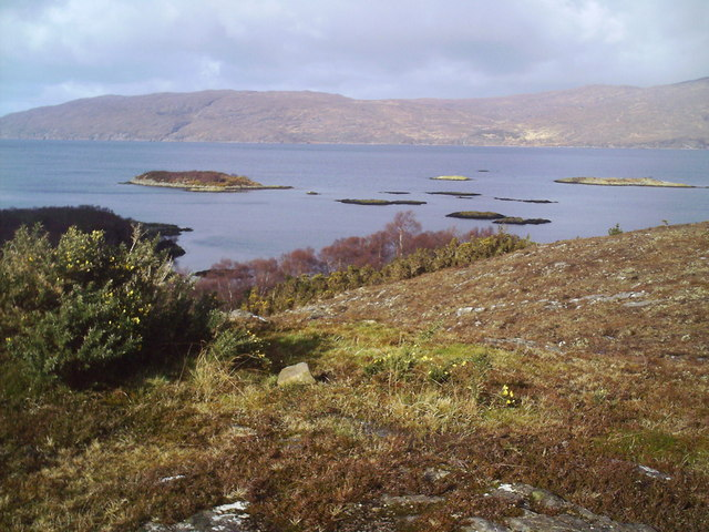 View North from Carn an Duine, Plockton.