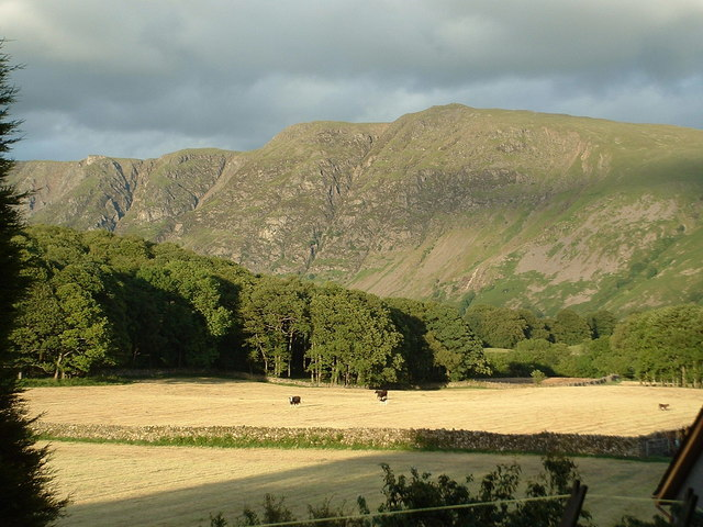 The Screes, seen from Nether Wasdale
