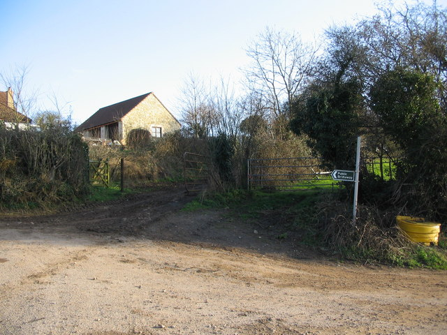 Public Bridleway near Rectory Farm