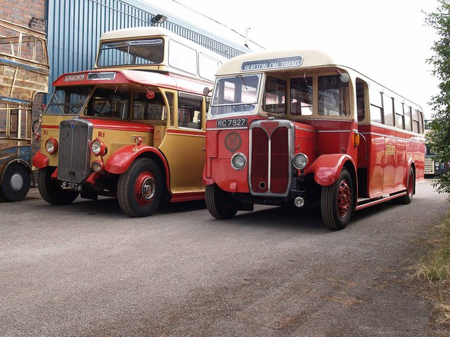 Buses at the Aston Manor Transport Museum