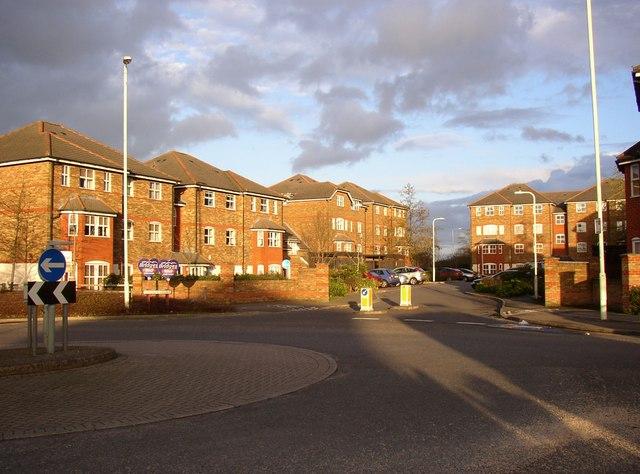 Flats, Wingate Court, Aldershot