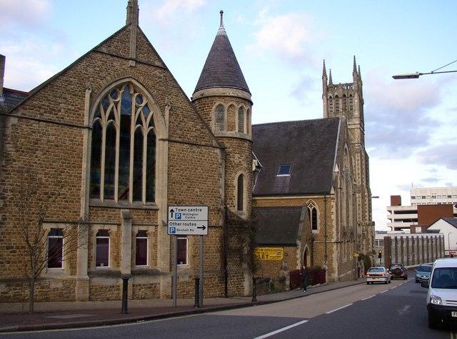 Former Chapel and Sunday School, Queens Road, Aldershot