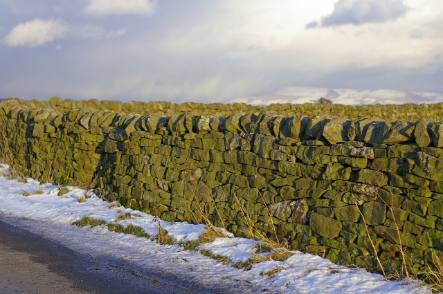 Drystone wall on Startifants Lane