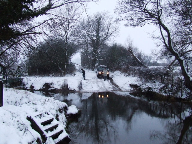 Ford on Hob Lane near Temple Balsall