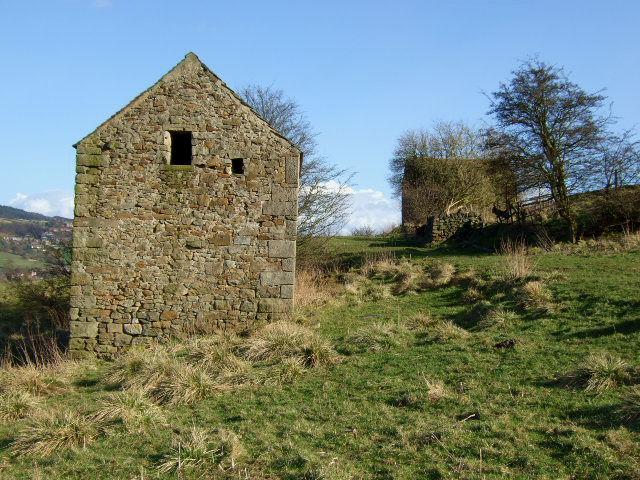 Pair of disused barns