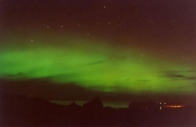 Northern Lights over Portnaguran