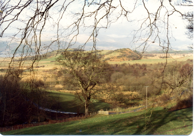 View from Felin Lodge, 1973