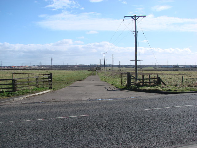 The Old Seaton Burn Waggon Way.