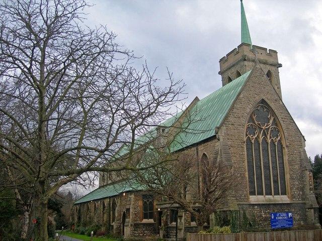 Parish Church of St James, Kidbrooke