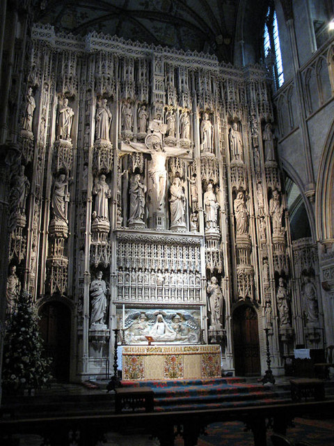 St.Albans Cathedral Altar