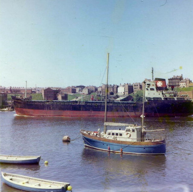 Shipping on the Tyne, 1977.