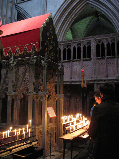 St.Albans Cathedral - Tomb of Saint Alban
