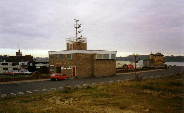 South Shields College radar station