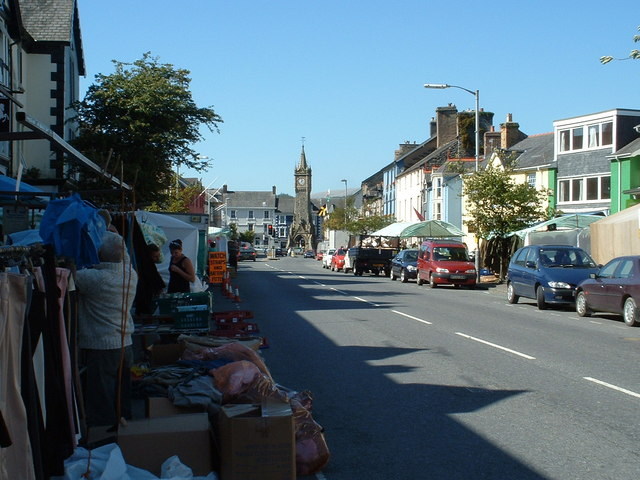 Machynlleth Town Clock and Market