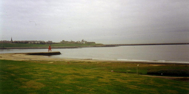 Harbour light, South Shields